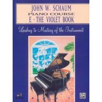 John W. Schaum Piano Course, E: The Violet Book