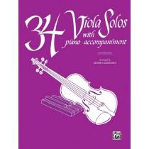 34 Viola Solos