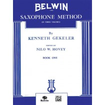 Belwin Saxophone Method, Book I