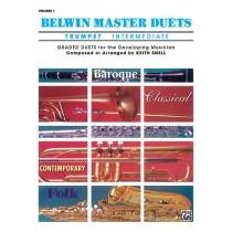 Belwin Master Duets (Trumpet), Intermediate Volume 1