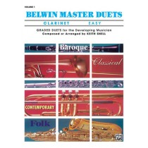Belwin Master Duets (Clarinet), Easy Volume 1