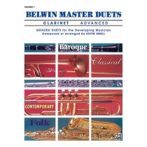 Belwin Master Duets (Clarinet), Advanced Volume 1