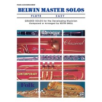 Belwin Master Solos, Volume 1 (Flute)