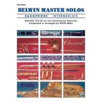 Belwin Master Solos, Volume 1 (Alto Saxophone)