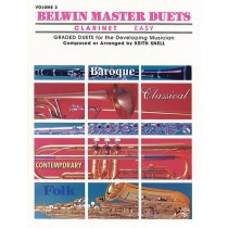 Belwin Master Duets (Clarinet), Easy Volume 2
