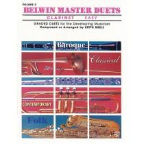 Belwin Master Duets (Clarinet), Easy Volume 2