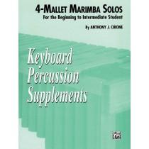 4-Mallet Marimba Solos