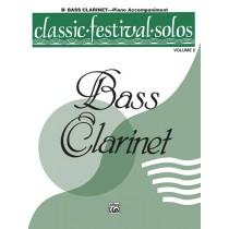 Classic Festival Solos (B-flat Bass Clarinet), Volume 2 Piano Acc.