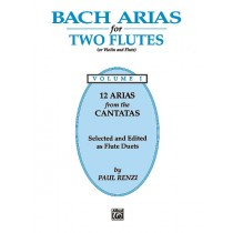 Bach Arias for Two Flutes, Volume I
