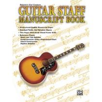 Belwin's 21st Century Guitar Staff Manuscript Book