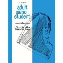Adult Piano Student, Level 1