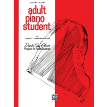 Adult Piano Student, Level 2