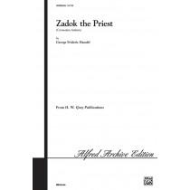 Zadok the Priest (SSAATTBB)
