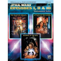 Star Wars®: Episodes I, II & III Instrumental Solos for Strings