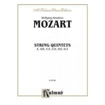 String Quintets, K. 406, 515, 516, 593, 614