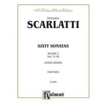 Sixty Sonatas, Volume II, Nos. 31-60 (Urtext Edition)
