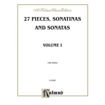 27 Pieces, Sonatinas and Sonatas, Volume I