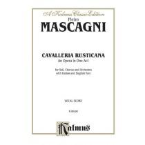 Cavalleria Rusticana, An Opera in One Act