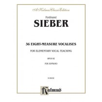 36 Eight-Measure Vocalises for Elementary Teaching, Opus 92