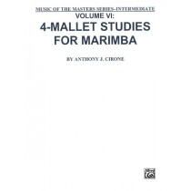 Music of the Masters, Volume VI: 4-Mallet Studies for Marimba