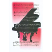 Schaum Recital Programs (Blank) #65: Piano and Music