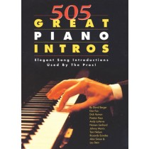 505 Great Piano Intros