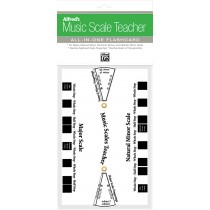 Alfred's Music Scale Teacher: All-In-One Flashcard (White)