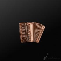 Accordion Pin Copper