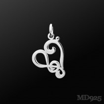 Sterling Silver Pendant Harmony S