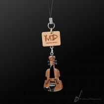 Wooden Strap Violin Dark