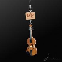 Wooden Strap Violin 3D