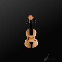 Wooden Violin Pin