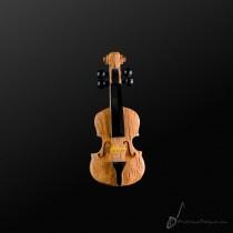 Wooden Viola Pin