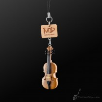 Wooden Strap Viola With Strings