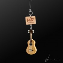 Wooden Strap Ukulele With Strings